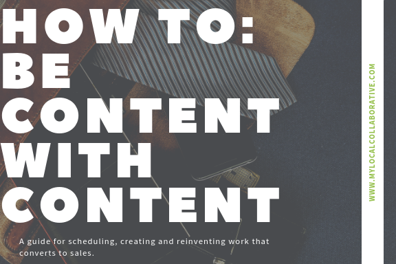 How To:Be Content With Content